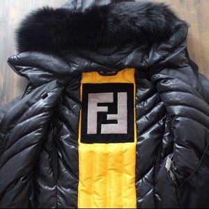 Authentic FENDI black Jacket